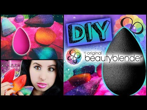 DIY Beauty Blender! | Make Your Own Beauty Blender! | Cheap & Easy To Make in Minutes! - YouTube