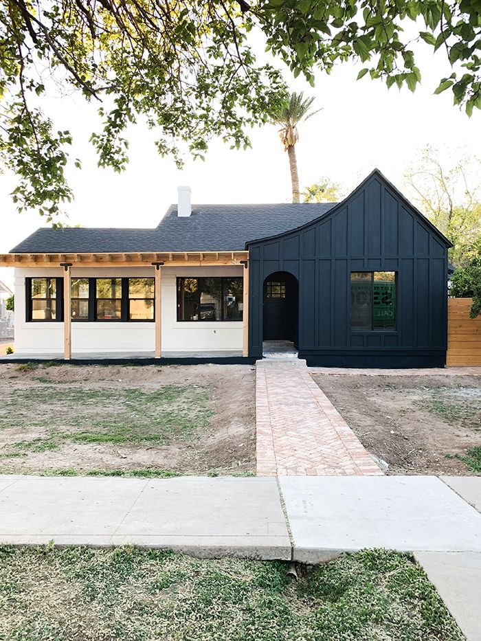 Evergreen Project Exterior Paint Reveal House Exterior Exterior House Colors Farmhouse Exterior