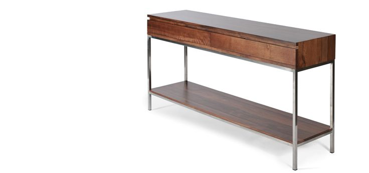 My new piece of furniture that I will covet... Soho Console Table | Gingko FurnitureGingko Furniture AND THEY WILL MAKE IT ANY CUSTOM SIZE - *Yeah!*