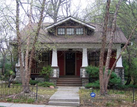 small craftsman bungalow | my favorite house in the triad area