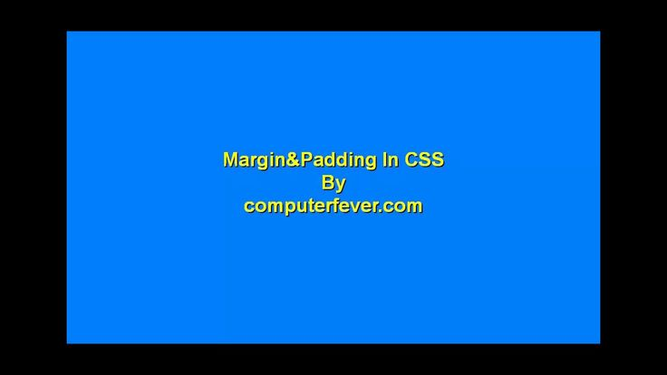 css3-css Margin Padding-lecture 17