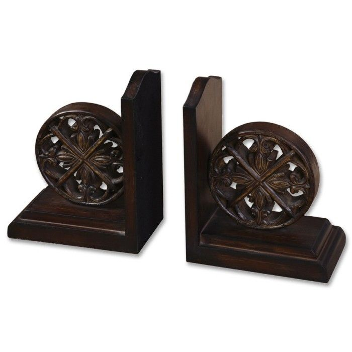 Set of 2 chakra bookends dreamwood temple amp webster presents