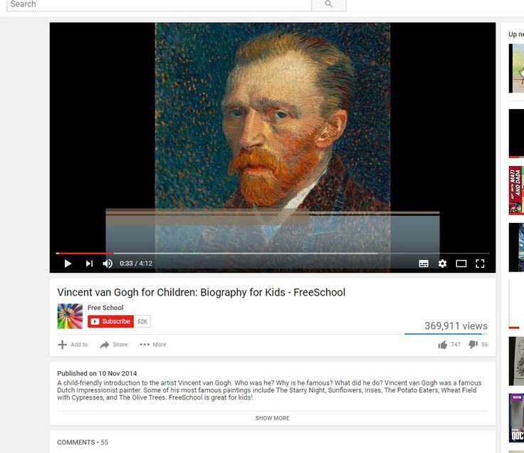 Bio Vincent Van Gogh