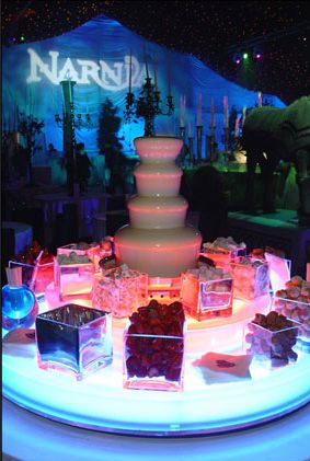 The Chocolate Fountain - Food Entertainment | www.contrabandevents.com