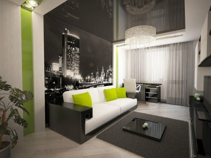 Wohnzimmer modern  wohnzimmer modern tapezieren wohnzimmer wande tapezieren ideen ...