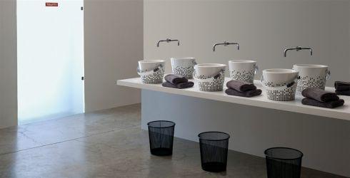 Vasque décorée SN13/8801