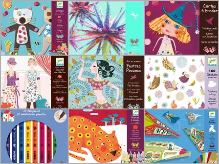 incredible art and design kits.  My girls love these and the art supplies that are included are really quality products.