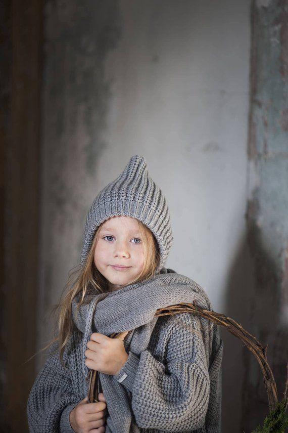 de8216b621f Merino Wool Dwarf Hat   Wool Gifts   Knitting Hat   Wool Hat