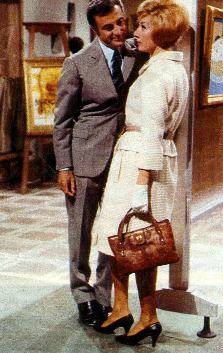 "Lauretta Masiero starring in RAI-Radiotelevisione Italiana's detective TV mini-series ""Le avventure di Laura Storm"" [The Adventures of Laura Storm], broadcasted in 1965 and 1966."