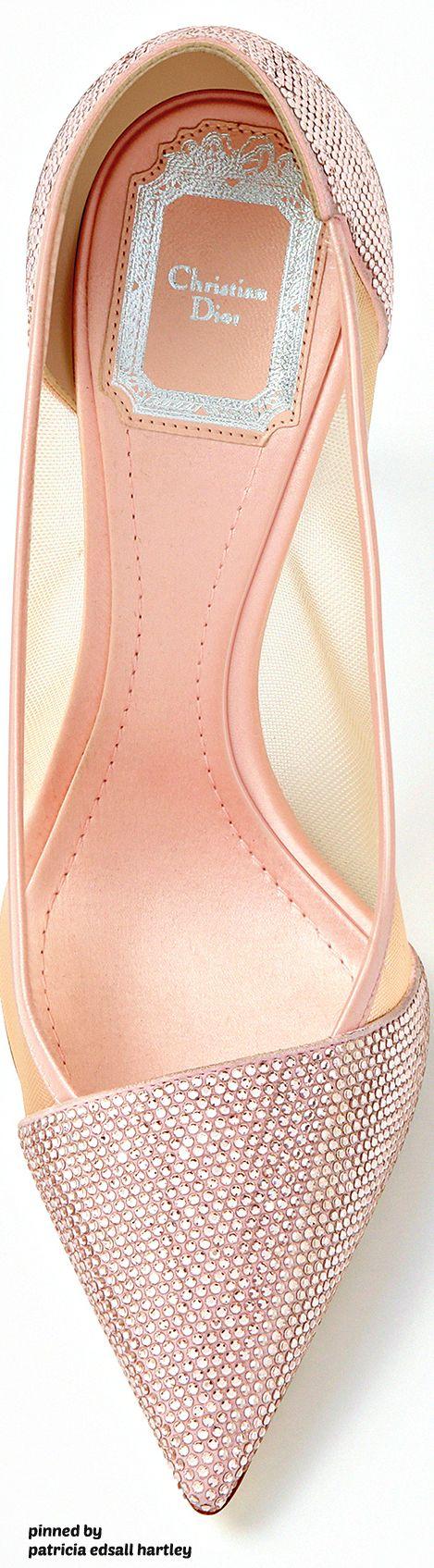 Rosamaria G Frangini | ShoeAddict | Christian Dior 2016 Blush* Shoes