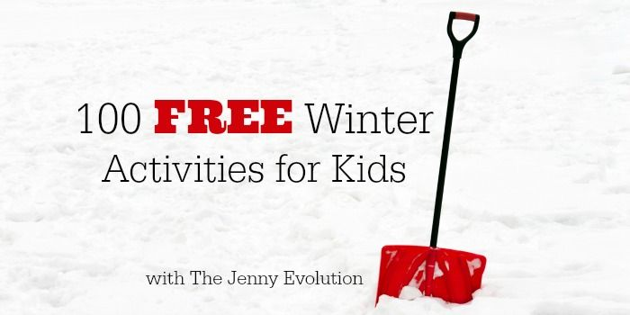 This year you can take advantage of this great list of100 Free Winter Activities for Kidsto keep your kids busy without breaking the bank.