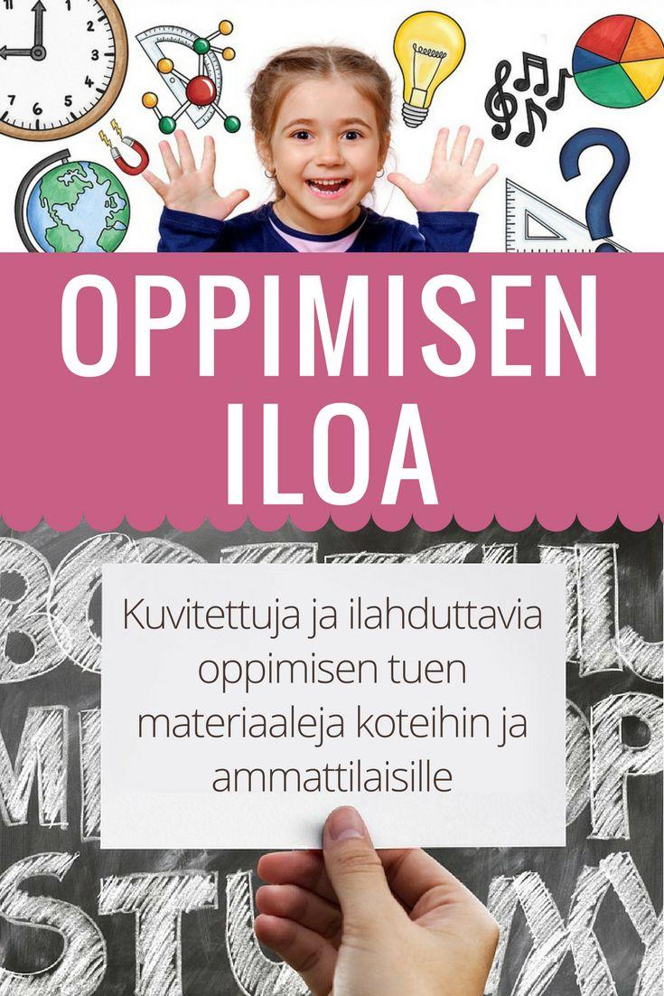 Tehtävien on tarkoitus olla hauska ja mukaansatempaava tapa opetella uusia taitoja joita voidaan hyödyntää useilla elämän osa-alueilla. Mukana lajittelua, esi- ja alkuopetuksen materiaaleja, suomen kielen harjoituksia ja paljon muuta.