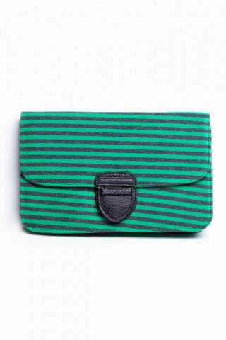 Nasty Gal - Milan Stripe Clutch