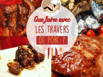 15 best viande porc images on pinterest cooking food - Cuisiner travers de porc ...