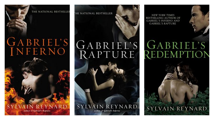 "Gabriel's Inferno Trilogy Sylvain Reynard- ""For the rest of my life, I'll dream of hearing your voice breathe my name."""