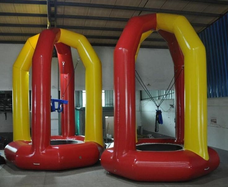 620.00$  Watch here - http://alif54.worldwells.pw/go.php?t=32629776021 - Hot Sale Inflatable bungee trampoline bungee jumping trampoline factory direct indoor  bounce house 620.00$
