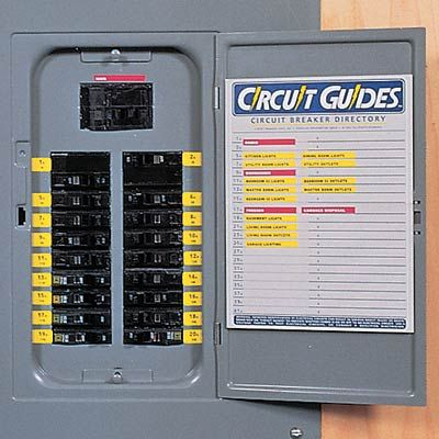 Circuit Breaker Identification Labels 9oo Products Home