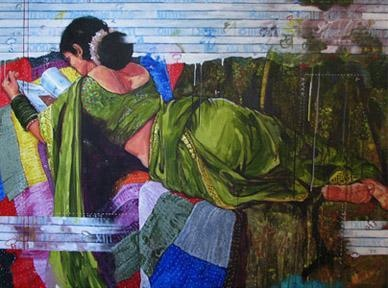 Indian Contemporary Art More backless women