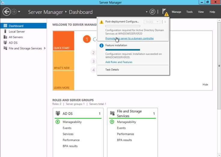 Installing Active Directory on Windows Server 2012 | Knowledge Center | Rackspace Hosting