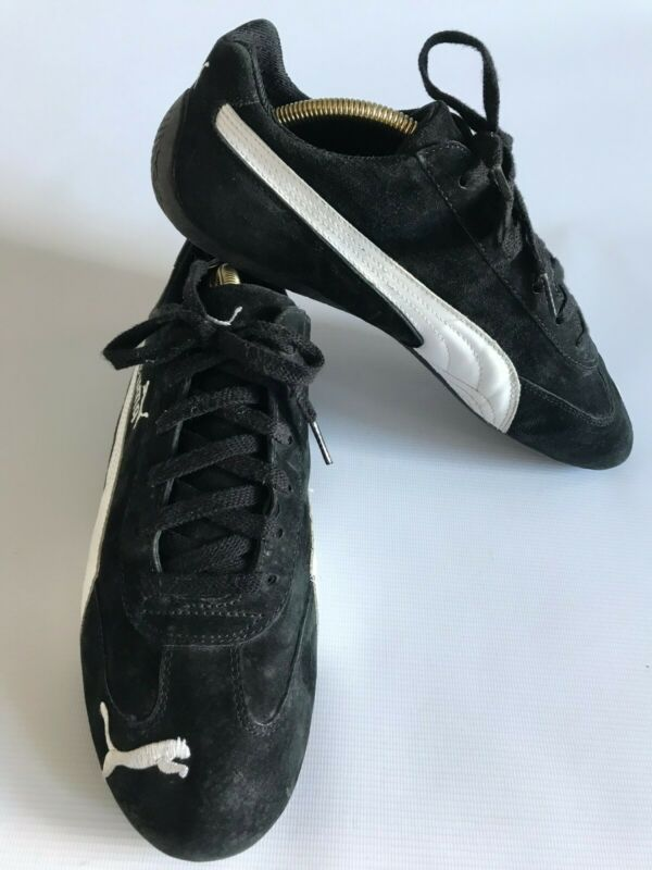 official photos 4a890 76dd7 Puma Speed Cat Black Suede Trainers - 300483 01 - UK 10 ...