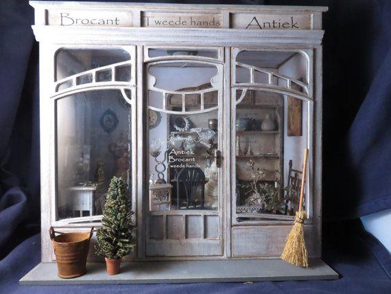 Dollshouse miniatuur roombox 1/12 een schaal kit in Art