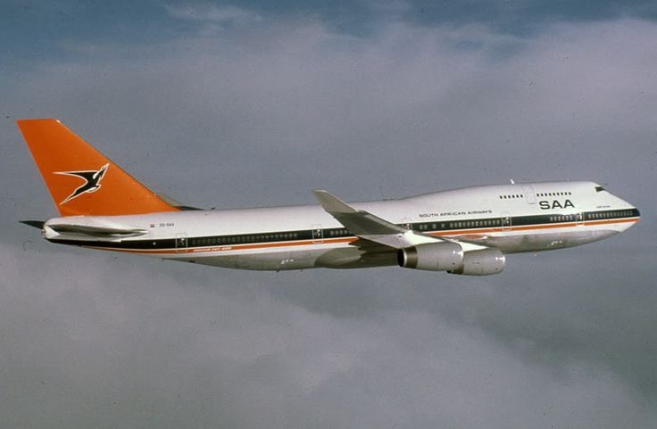 South African Airways Boeing 747-400; registered ZS-SAX