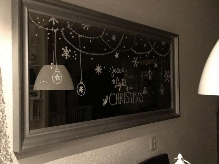 Raamtekening Kerst
