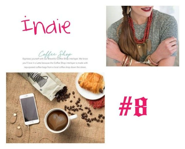 Indie Necklace by kelseybassett on Polyvore featuring CoffeeShop