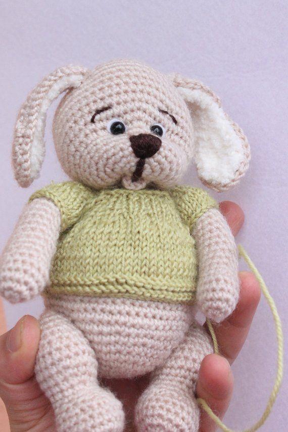 h kchen crochet hase bunny spielzeug osterzeug gef llt. Black Bedroom Furniture Sets. Home Design Ideas