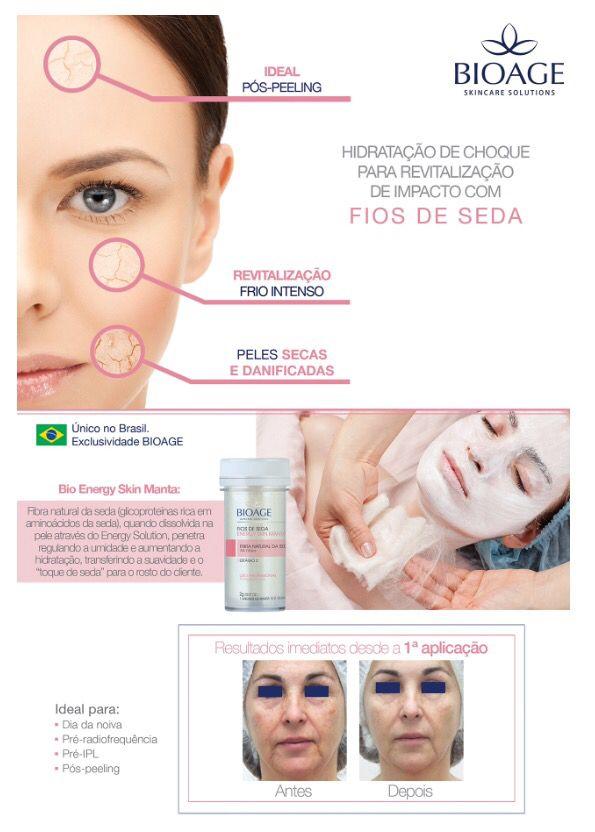 A Hidratação facial de fios de seda! 🔝🔝🔝 Hidratação