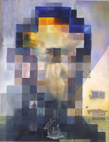 Love this one, too!  Salvador Dali, Gala Nude Looking at the Sea TEATRE-MUSEU DALI