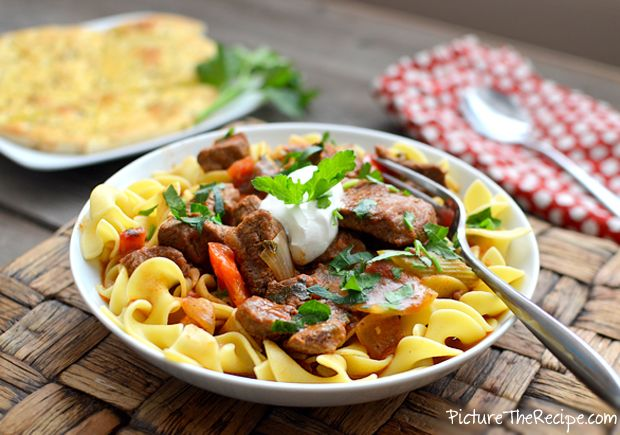 Beef Goulash - A hearty beef stew that's perfect for this weather!
