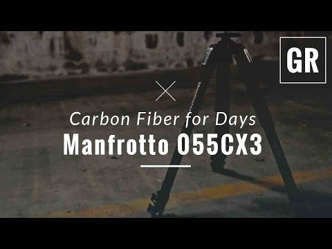 Manfrotto MT055XPRO3 Aluminium 3-section Tripod Review - Gadget Review - YouTube