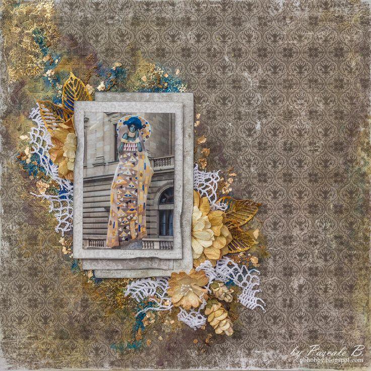 Klimt - Maja Design DT - Scrapbook.com