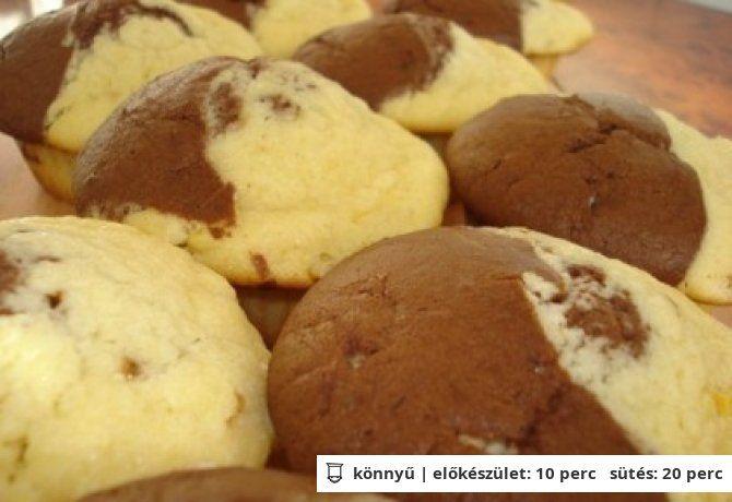 Citromos-kakaós muffin