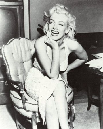 decades later, marilyn monroe is still an inspiration....and a role model to women to show that curvy is still attractive