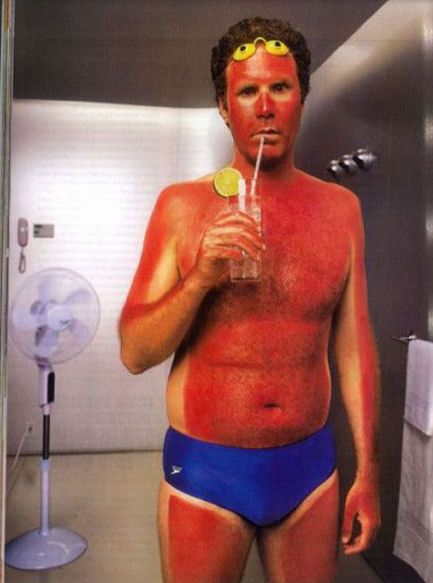 Home Tanning Fail - Best funny, pics, humor, jokes, hilarious, quotes