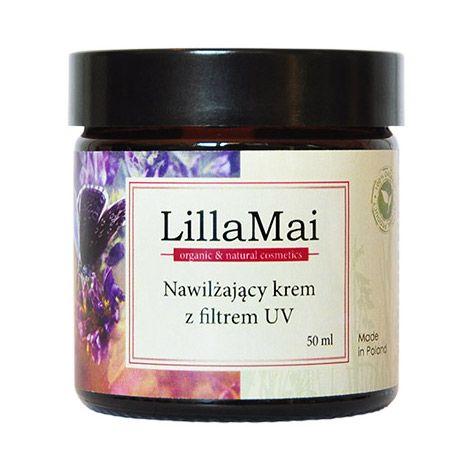 LILLA MAI Nawilżający krem z filtrem UV - Nieprzyzwoicie naturalny sklep dla kobiet lubiących siebie