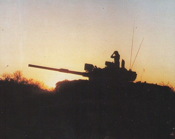 South African Armoured Corps: Olifant Mk 1A Main Battle Tank