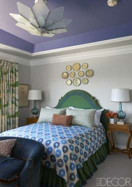 blue green paint color bedroom best 25 purple ceiling ideas on purple 18369