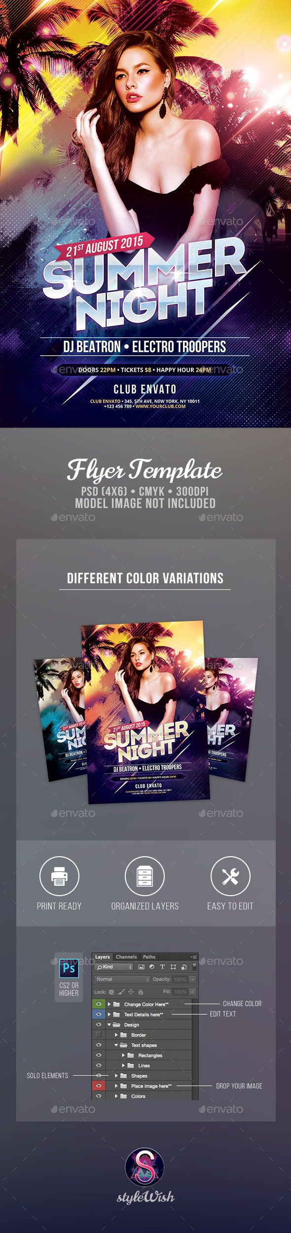 43 best Club & Parties Flyer images on Pinterest | Party flyer ...