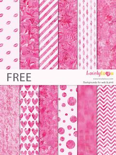 Friday's Guest Freebies ~ Lovely to CU  ✿ Follow the Free Digital Scrapbook board for daily freebies: https://www.pinterest.com/sherylcsjohnson/free-digital-scrapbook/ ✿ Visit GrannyEnchanted.Com for thousands of digital scrapbook freebies. ✿ Free Digital Papers