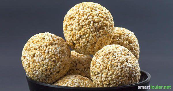 Amaranth: Köstliche Energiebomben ohne Gluten zum Selbermachen