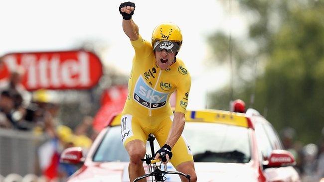 Tour de France 2012 | Bradley Wiggins guanya l'última contrarrellotge i es converteix en el primer britànic en guanyar un Tour.