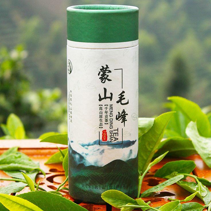 2014 tea green tea mengding tea maofeng tea colitas 50g  FREE SHIPPING  $15.00