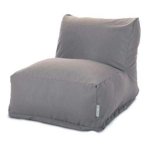 Cheap Majestic Home Goods Bean Bag Chair Lounger Solid Gray http://homepatiogarden.net/cheap-majestic-home-goods-bean-bag-chair-lounger-solid-gray/