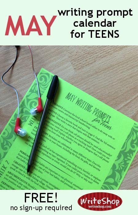 June Calendar Writing Prompts : Best high school homeschool images on pinterest