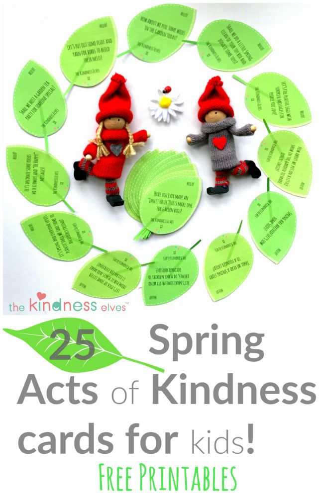 25 Spring Acts of Kindness Ideas for Kids