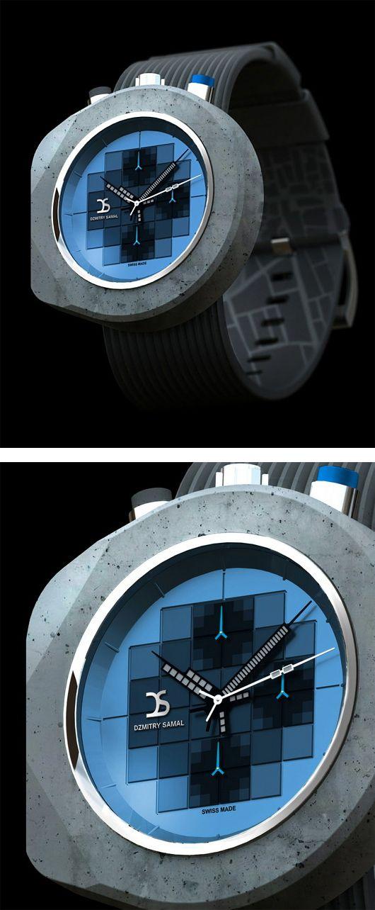 Concrete Watches by Dzmitry Samal