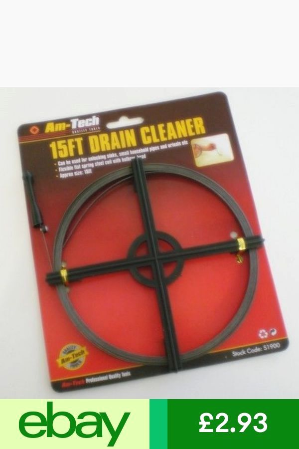 Drains Unblocking Rodder Tool Flexible Wire Rodding Set For Indoor Pipes Kit Plumbing Flexible Wire Drains